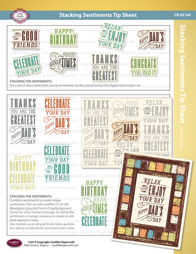 JR CR-02166_Stacking_Sentiments_Clear_ Stamp_TIP_SHEET