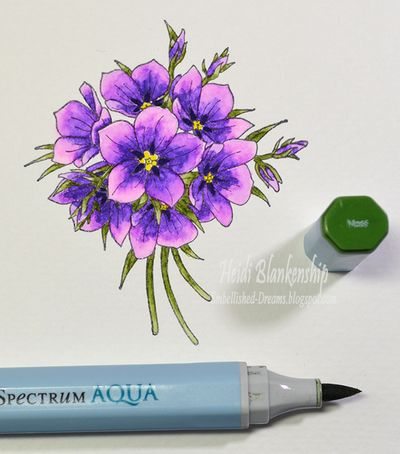 tutorial tuesday spectrum aqua markers with heidi blankenship rh justritestampers typepad com Copic Coloring Tutorials Copic Coloring Tutorials