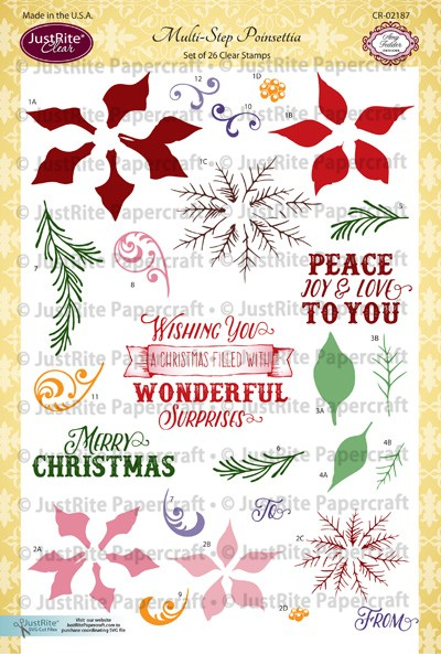 JR_CR-02187_Multi-Step_Poinsettia_Clear_Stamps_