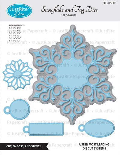 DIE-05001_Snowflake_and_Gift_Tags_Dies