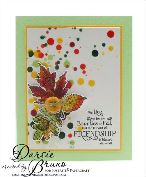 JustRite_Papercraft_Autumn_Leaves_Dies_Darsie_Bruno