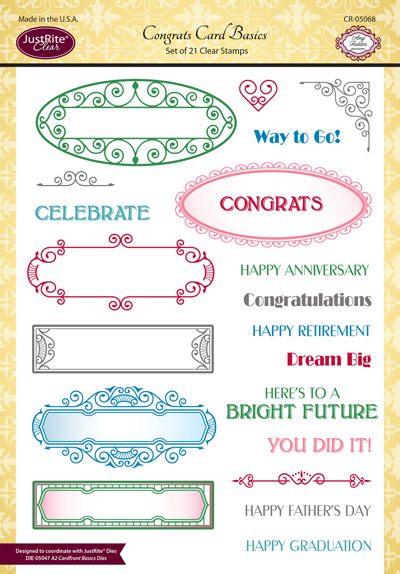 CR-05068_Congrats_Card_Basics_Clear_Stamps