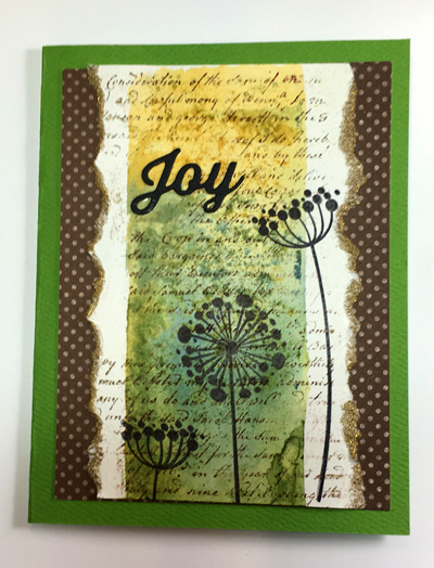 Joy Floral Silhouettes 2
